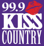 Kiss Country radio logo